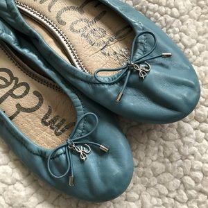 Same Edelman Felicia Ballet Flats Sz 6 M